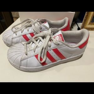 Adidas Superstar youth size 2